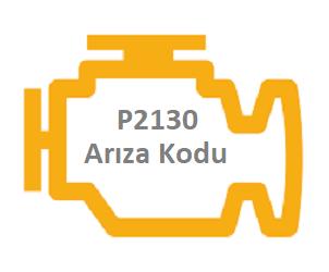 P2130 Motor Arıza Kodu