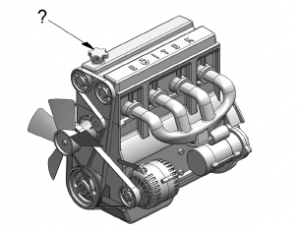 motor yağ kapağı