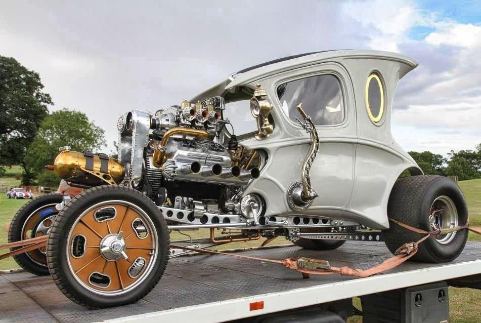 Steampunk Hot Rod Automatron